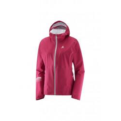 Salomon Lightning Jacket - Vestes course pour Femme - Rouge