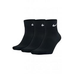 Nike 3 Pack Lightweight Quarter Chaussettes running - Noir