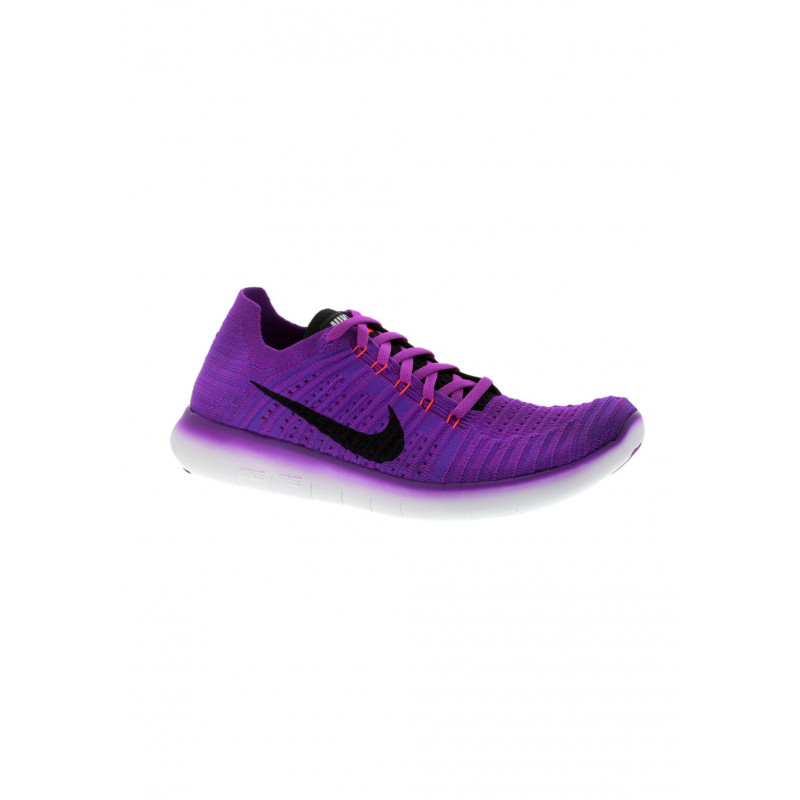 Nike Free Rn Flyknit Chaussures running pour Femme Violet