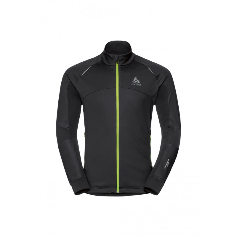 Noir Pour Aeolus Windstopper Odlo Homme Vestes Jacket Course Ow0qnx14v