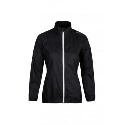 max-Q.com Lightweight Jacket - Vestes course pour Femme - Noir