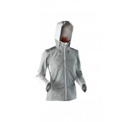 X-Bionic Outdoor 3L Ow Jacket - Vestes course pour Femme - Gris