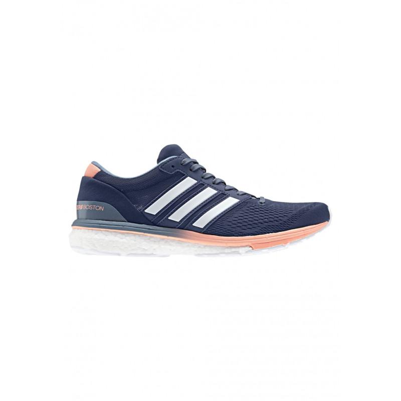 adidas adiZero Boston 6 - Chaussures running pour Femme - Bleu