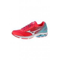 Mizuno Wave Rider 19 - Chaussures running pour Femme - Rouge