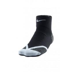 Nike Elite Running Cushion Quarter - Chaussettes running pour Femme - Noir