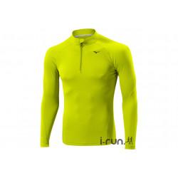 Mizuno Tee-Shirt Ligthweight 1/2 Zip M vêtement running homme