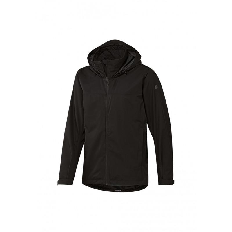 adidas Wandertag Jacket - Vestes course pour Homme - Noir 3a0492e64013