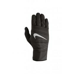 nike quilted run gloves gants de cours pour homme noir. Black Bedroom Furniture Sets. Home Design Ideas