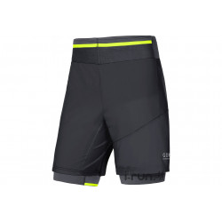 Gore Running Wear Short Fusion 2 en 1 M vêtement running homme