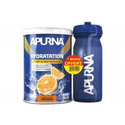 Apurna Préparation Hydratation - Orange + Bidon Offert Diététique Préparation
