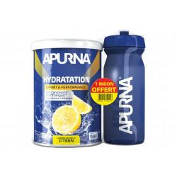 Apurna Préparation Hydratation - Citron + Bidon Offert Diététique Préparation