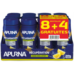 Apurna Pack 8+4 Boisson Récupération - Citron Diététique Protéines / récupération