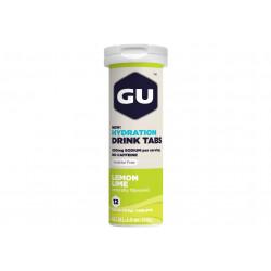 GU Tablettes Hydratations Drink - Citron vert Diététique Boissons