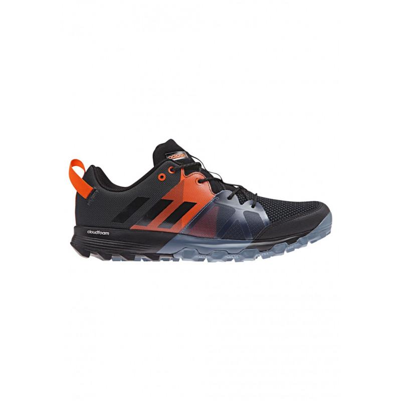 Hommes Kanadia 8.1 Tr Chaussures De Course De Trail, Adidas Noir