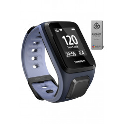 TomTom Runner 2 Cardio + Music Cardio frèquencemètres & Montres Sport - Gris