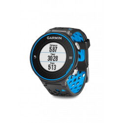 Montre cardio GPS Garmin Forerunner 620 - coloris noir et bleu