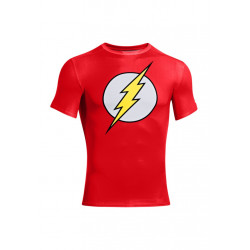 Under Armour Alter Ego Flash Compresion Shirt - Article compression pour Homme - Rouge