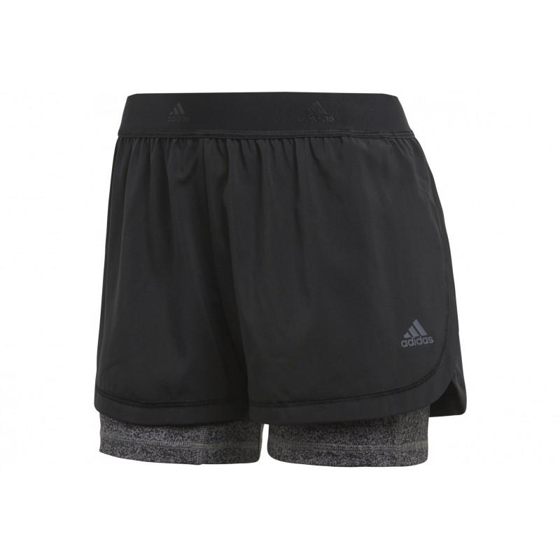 2en1 Femme Printed Vêtement Running Adidas W zqSpGUMV