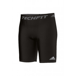 adidas Techfit Base Short Tight - Article compression pour Homme - Noir