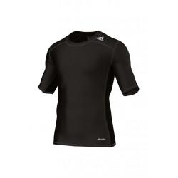 adidas Techfit Base Tee - Article compression pour Homme - Noir