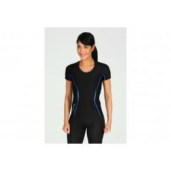 Skins A200 Top SS W vêtement running femme