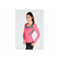 2XU Tee-Shirt L/S Xform Compression W vêtement running femme