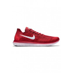 Nike Free RN Flyknit 2017 - Chaussures running pour Homme - Rouge ...