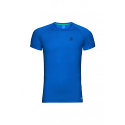 Odlo Suw Top Crew Neck S/s Active F-dry Light - T-shirt loisir pour Homme - Bleu