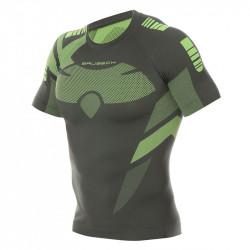 BRUBECK - T-shirt Homme manches courtes DRY - couleur vert clair