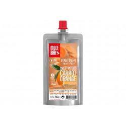 Mulebar Pulpe de fruits Vegan - Patate Douce Orange Carotte Diététique Gels