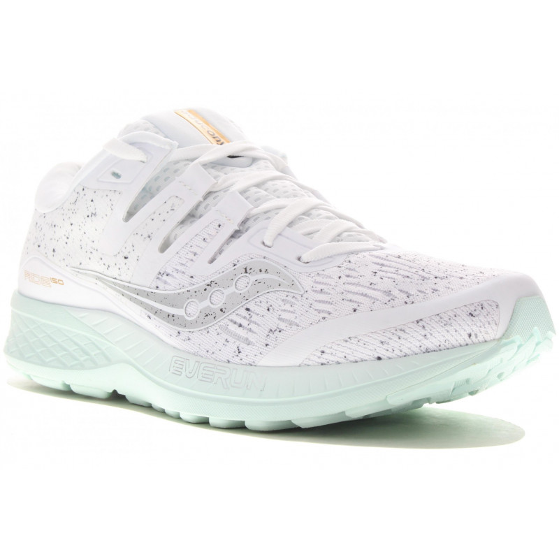 4026a1220e17 Saucony Ride ISO White Noise W Chaussures running femme