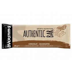 Overstims Authentic Bar - Chocolat/cacahuètes Diététique Barres
