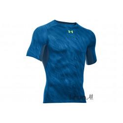 Under Armour Tee-Shirt UA HeatGear Printed M vêtement running homme