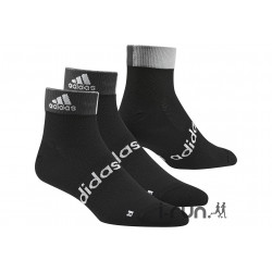 adidas 2 paires Chaussettes Ankle Chaussettes