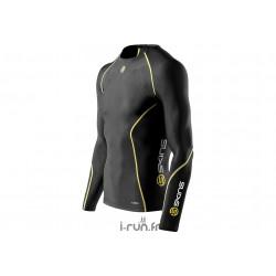 Skins A200 Top LS M vêtement running homme