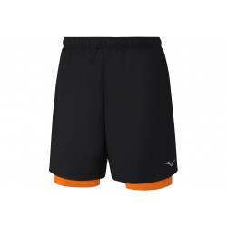 Mizuno Helix Square 7.5 2en1 M vêtement running homme