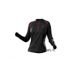 Damart Sport Maillot 1/2 Zip Thermolactyl W vêtement running femme