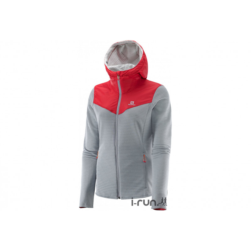 Vêtement Running W Veste Midlayer Salomon Elevate Femme 4IqR8BPwx