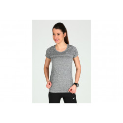 Nike Tee-Shirt Dri-Fit Knit W vêtement running femme
