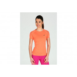 Asics Tee-shirt Stripe Top W vêtement running femme