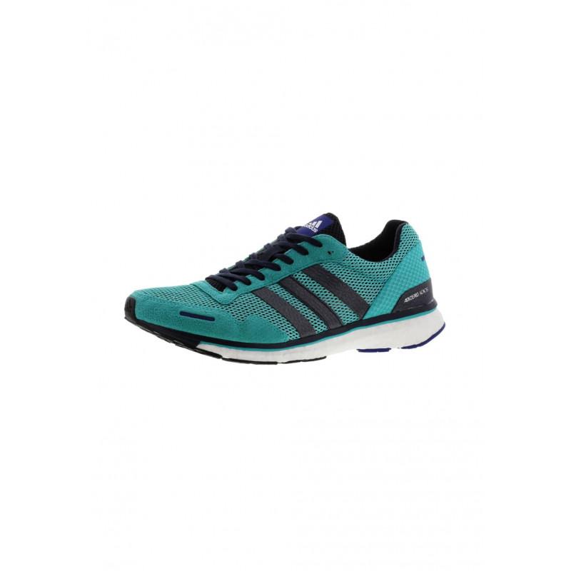 Adidas 3 Chaussures Adizero Pour Homme Adios Blanc Running qVSzUpM
