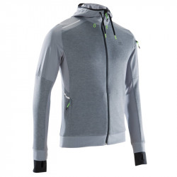 VESTE RUN WARM+ POCKET   Gris