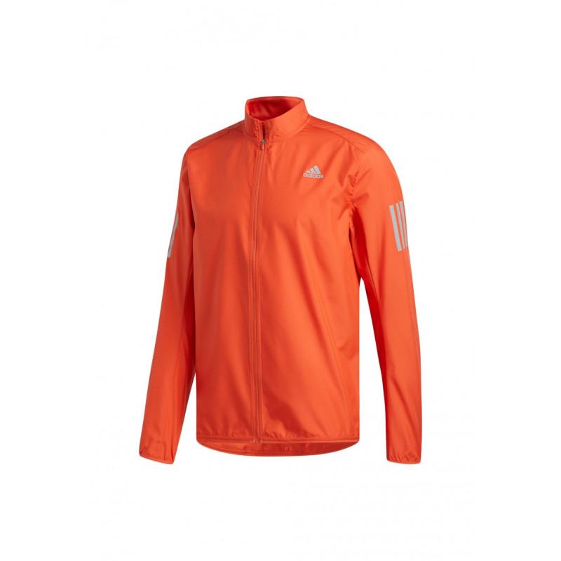adidas Response Wind Jacket Vestes course pour Homme Rouge