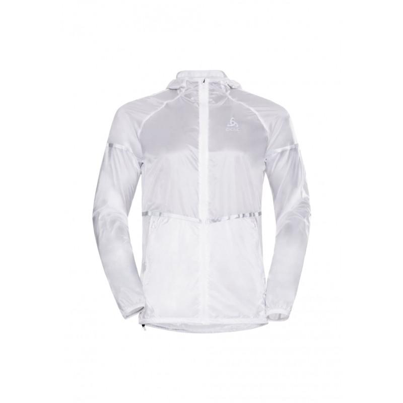Odlo Jacket Zeroweight Light - Vestes course pour Homme - Gris 1c96c68baa10