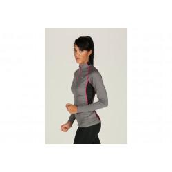 Mizuno Tee-Shirt Merino Wool 1/2 Zip W vêtement running femme