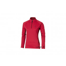 Asics Maillot Fuji Trail 1/2 Zip W vêtement running femme