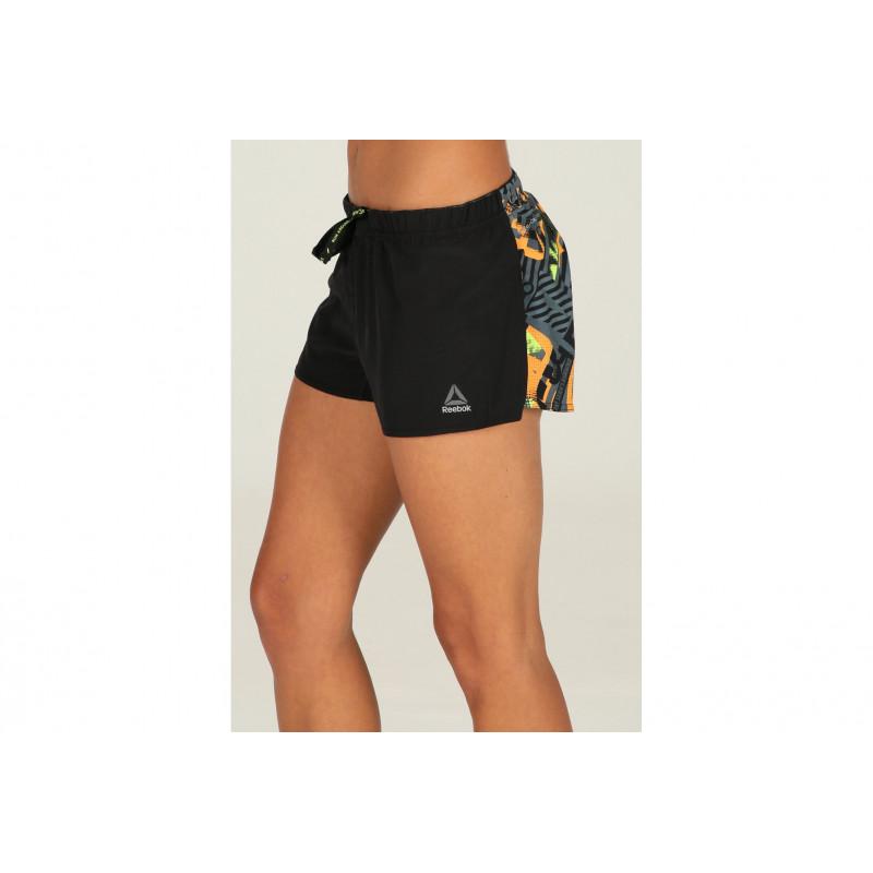 Reebok Short de Training Running Printed W vêtement running femme