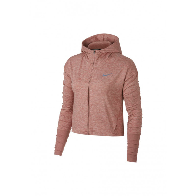 Nike Course Femme Hoodie Full Vestes Rose Element Pour Zip PHwPq4F