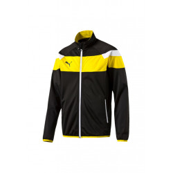 Puma Spirit Ii Polyester Tricot Jacket - Vestes course pour Homme - Noir