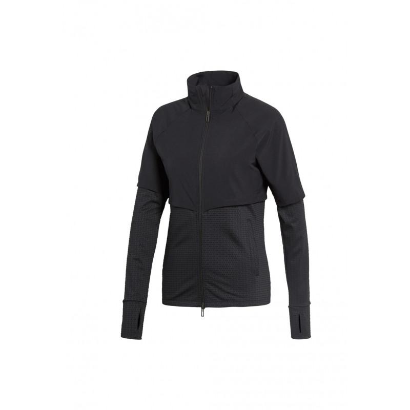 Transitional Jacke Noir Course Adidas Vestes Climalite Femme Pour 5UqZ4